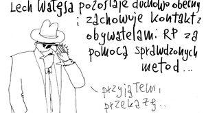 Duchowa obecność Wałęsy