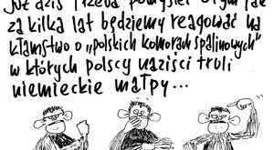 Polscy naziści trują niemieckie małpy